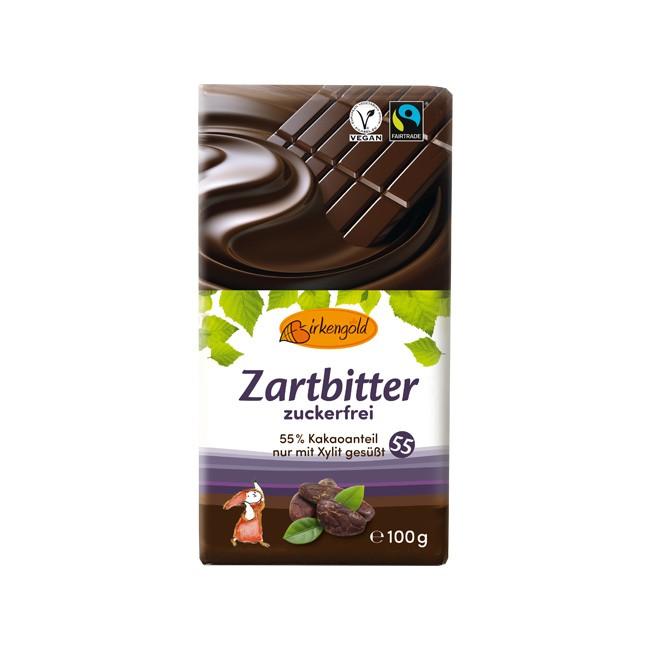 Birkengold Zartbitter 100g