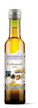 Bio Planète : Bio Erdnussöl nativ, Fairtrade (250ml)