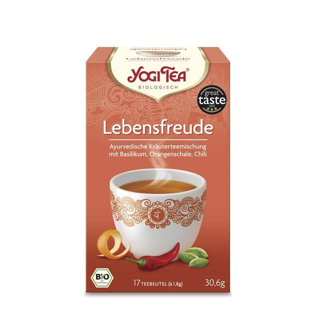 Yogi Tea Lebensfreude Tee bio 17 Beutel
