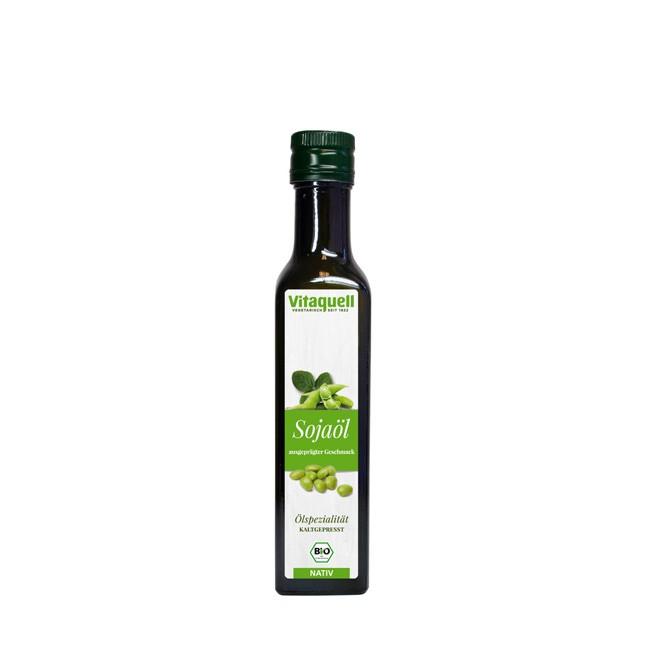 Natives Sojaöl Vitaquell in Bio-Qualität 250ml