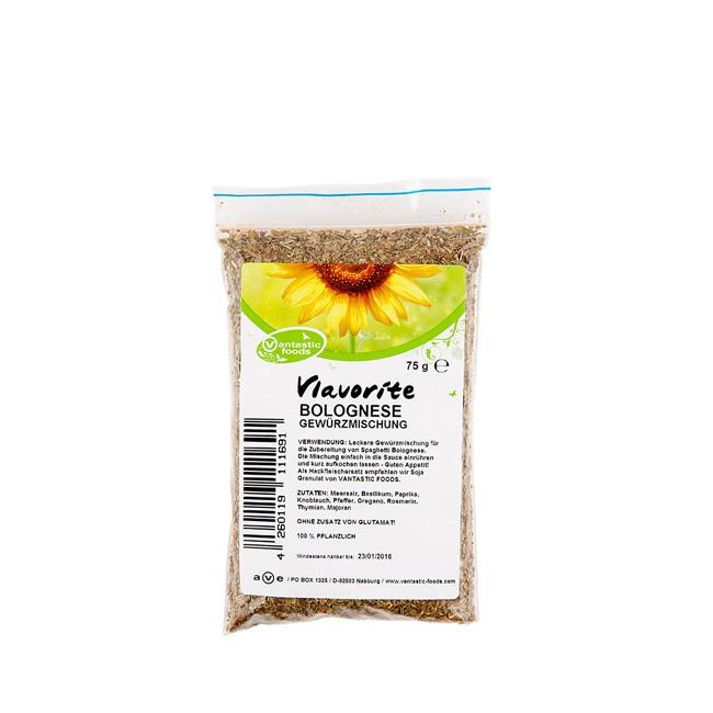 Vantastic Foods Gewürzmischung Bolognese