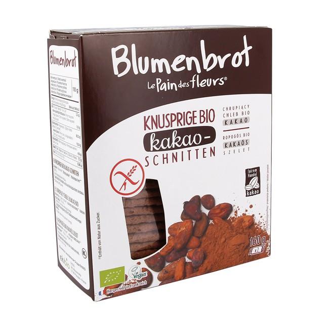 Blumenbrot Kakao, bio (160g) - knusperleichte Brote ohne Allergene