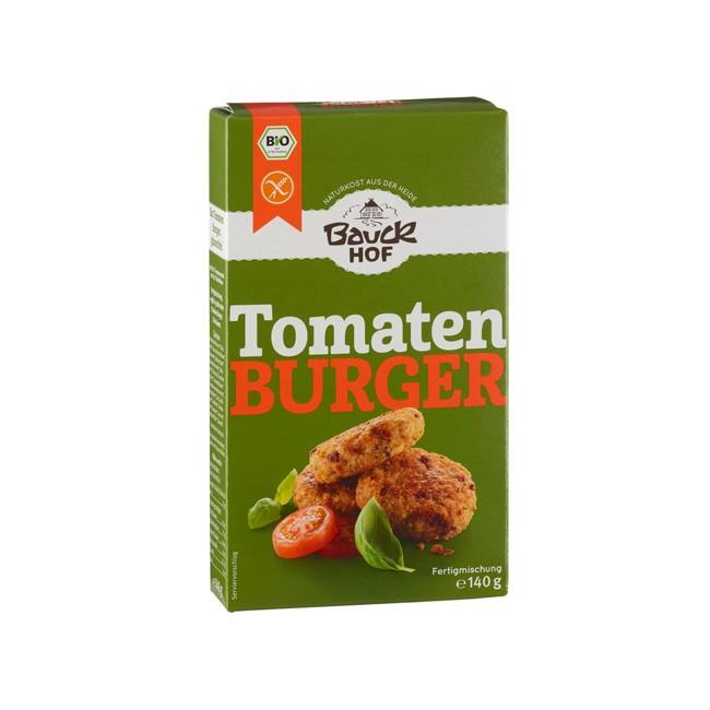 Tomaten Basilikum Burger Fertigmischung, glutenfrei 140g Demeter