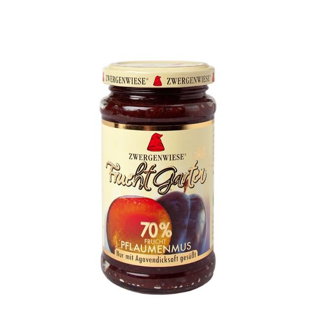 Zwergenwiese FruchtGarten Pflaumenmus mit 70% Fruchtanteil 225g