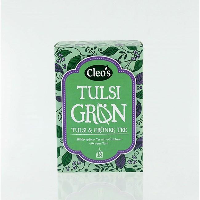 Cleo's Tulsi Grün, bio (18 Beutel)