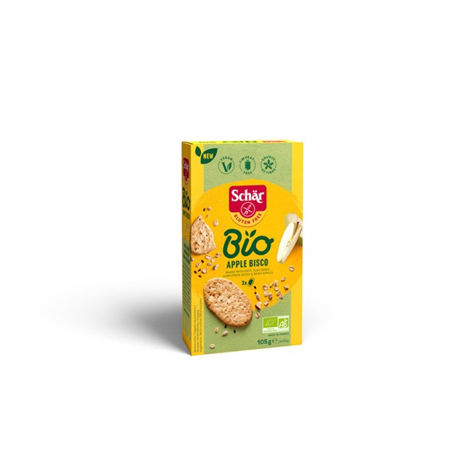Dr. Schär Apple Bisco Kekse, bio 105g