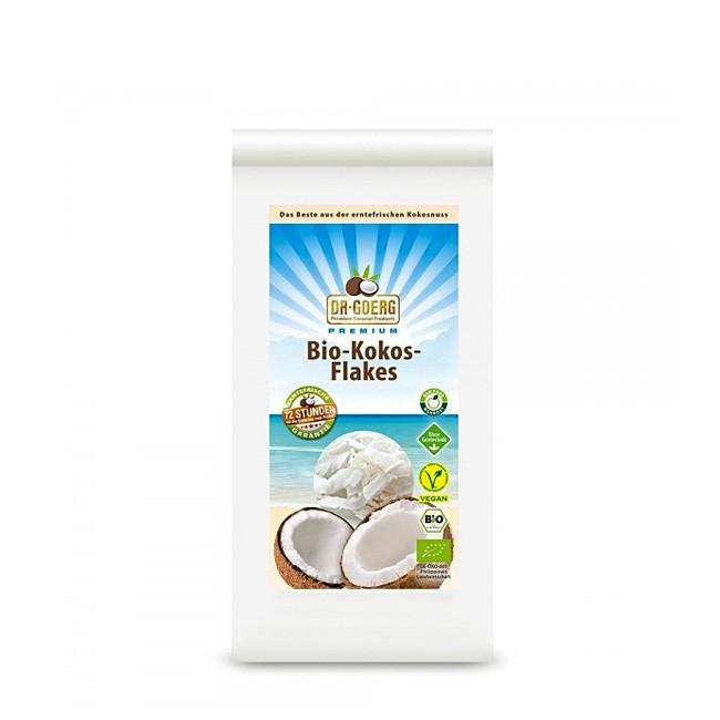 Bio Kokosflakes zum Knabbern oder für die exotische Küche - Premium 300g Packung