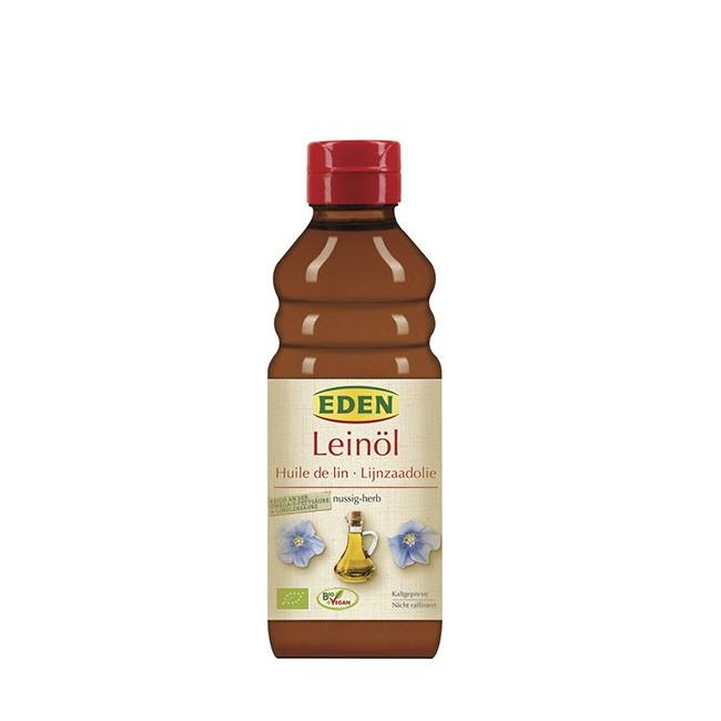 Eden Leinöl bio in der 250ml Flasche - nativ und nicht raffiniert