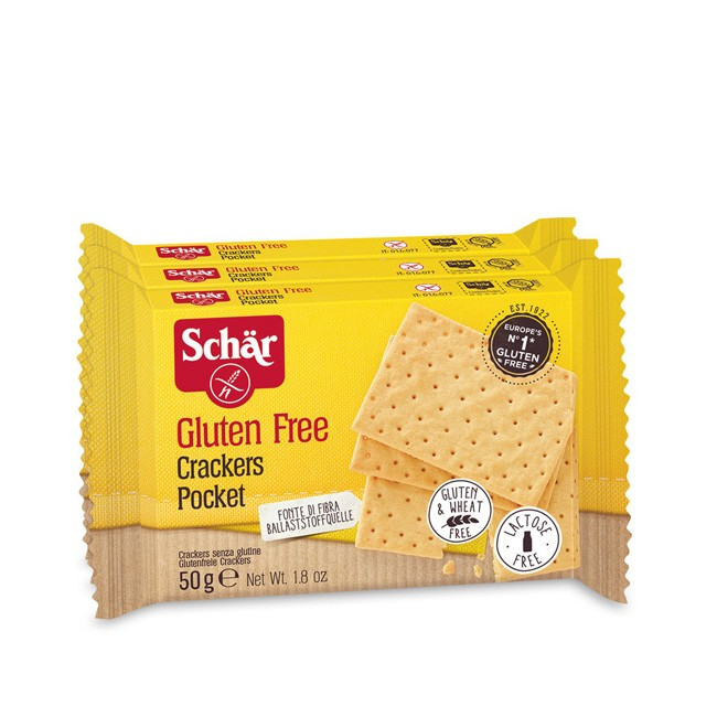 Dr.Schär Glutenfrei Crackers Cracker Pocket 50g