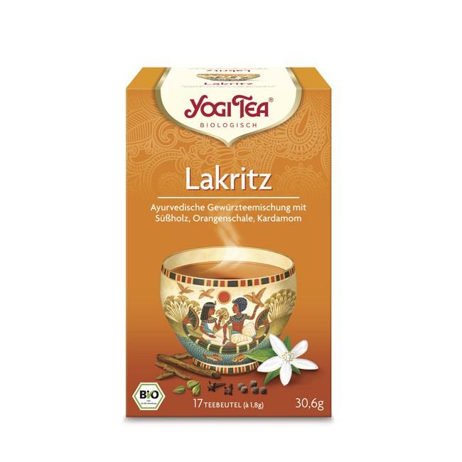 orientalisches Aroma mit dem Yogi Tea Lakritz Tee in Bio Qualität