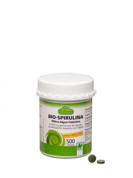 Bio Spirulina Tabletten von Dr. Dünner (500Stk.)