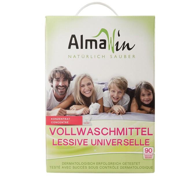 Almawin Vollwaschmittel 5kg für 90 Waschladungen