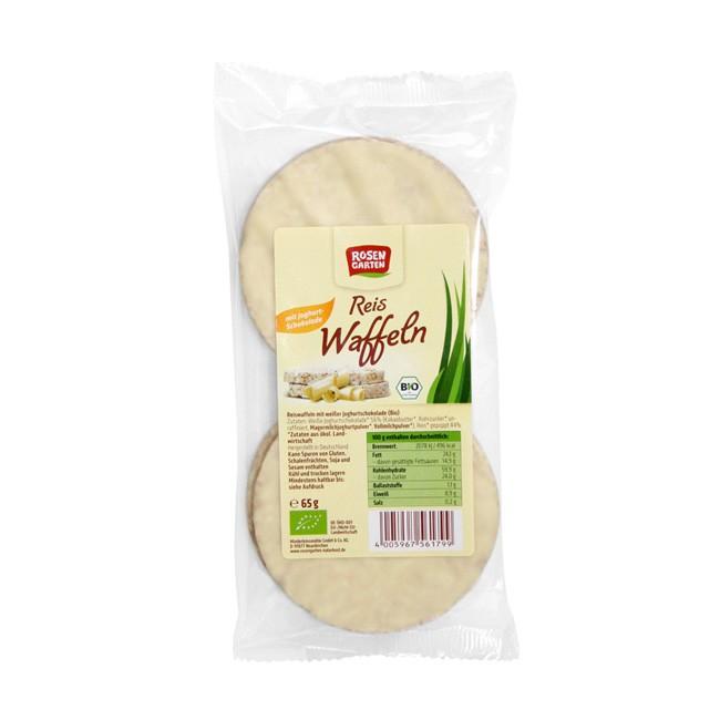 Rosengarten Reiswaffeln Joghurt, bio 65g