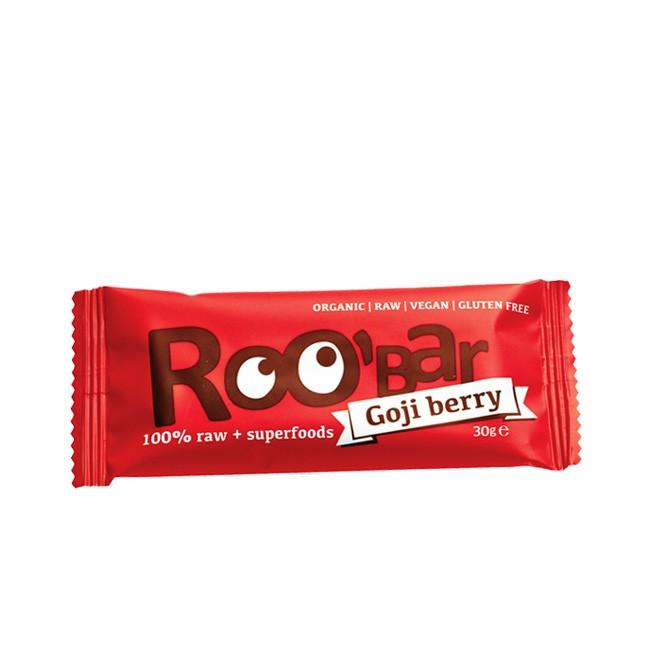 Chinas Wunderbeere Goji Berry Rohkost Riegel von Roo-bar