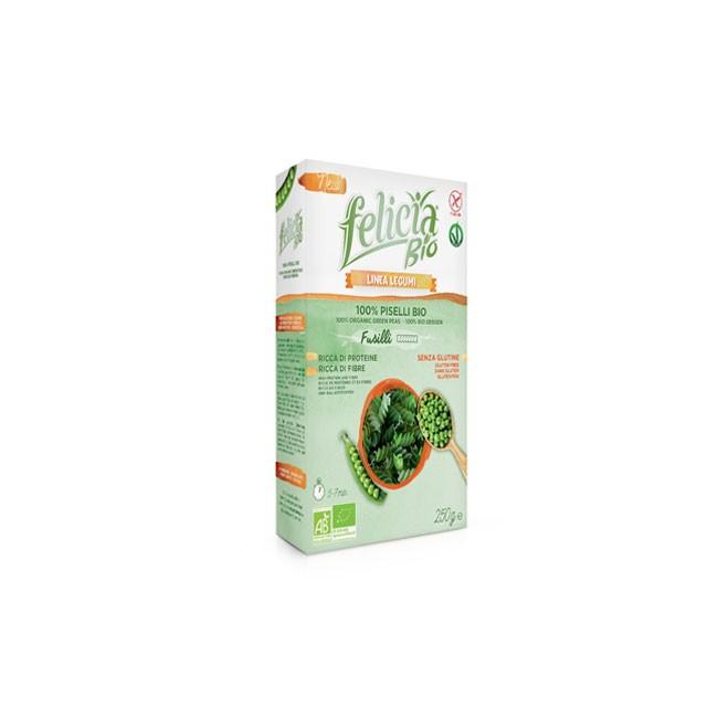 Bio Erbsen Fusilli glutenfrei und vegan - Felicia Bio
