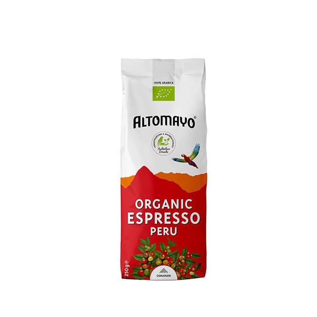 Altomayo BIO Organic Espresso 250g gemahlen - aus Peru