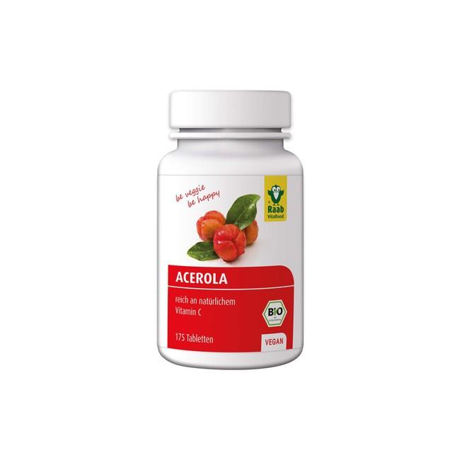 Raab Acerola Tabletten in Bio-Qualität (175 Stk)