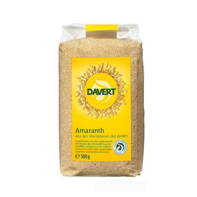 davert amaranth ungesättigte fettsäuren bio 500g