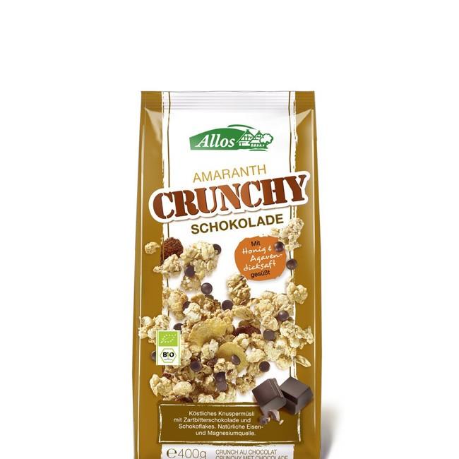 Allos: leckeres Amaranth Crunchymüsli (400g) fü einen guten Start in den Tag