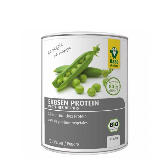Bio Erbsen Protein Pulver von Raab (75g)