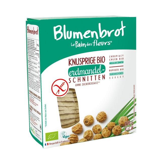Blumenbrot : Bio Erdmandel Knusperbrot, glutenfrei (150g)