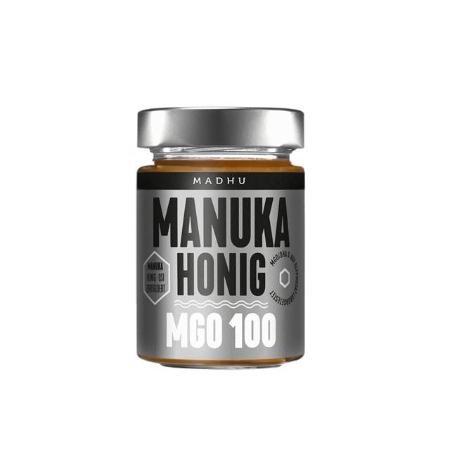 Madhu : Manuka-Honig MGO 100 Silber (250g)