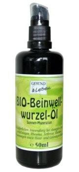 Gesund und Leben : Beinwell-Wurzelöl, bio (50ml)