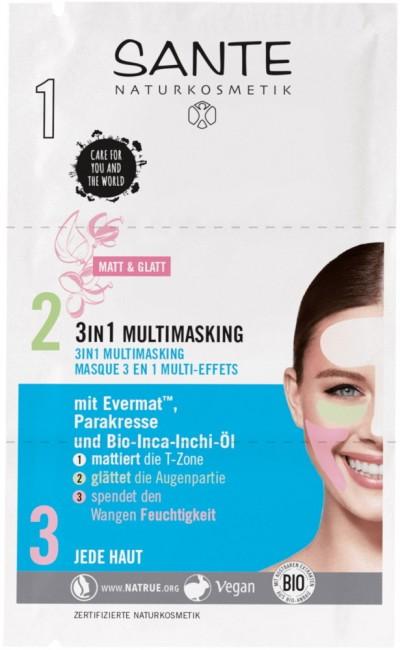 Sante : 3 in 1 Multimasking Gesichtsmaske, bio (8ml)