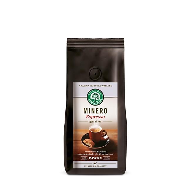 gemahlene Espresso Minero in Bio Qualität 250g