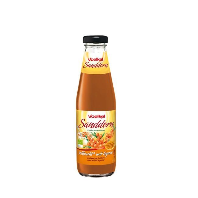 Voelkel : Sanddorn - Vollfrucht mit Agave, bio (0,5l)*