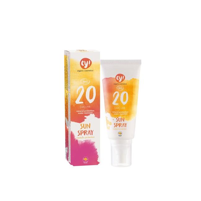 Eco cosmetics: Ey! Sunspray LSF 20 (100ml)