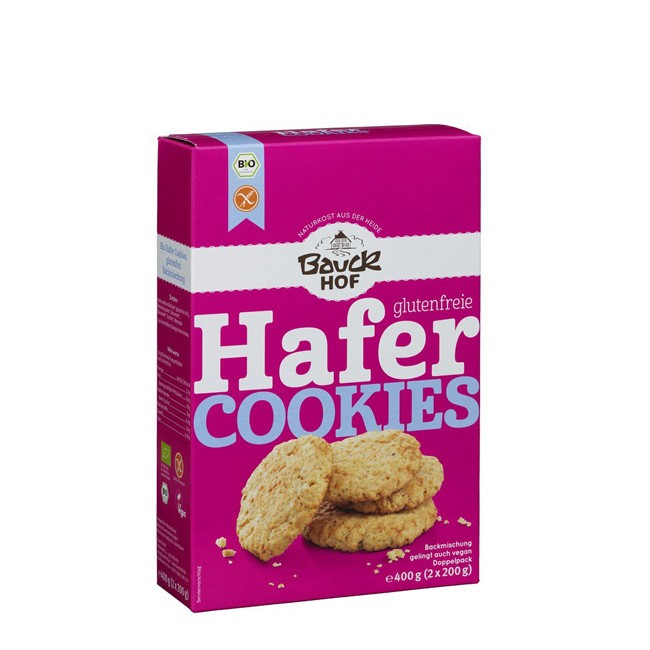 Bauckhof Backmischung Hafer Cookies glutenfrei 400g