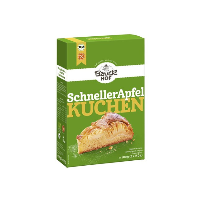 Bauckhof Backmischung Schneller Apfelkuchen bio (2x250g)