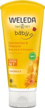 Weleda : Calendula Waschlotion & Shampoo (200ml)