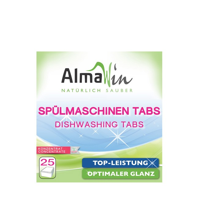 25 ökologische Spülmaschinen Waschmittel Tabletten von AlmaWin
