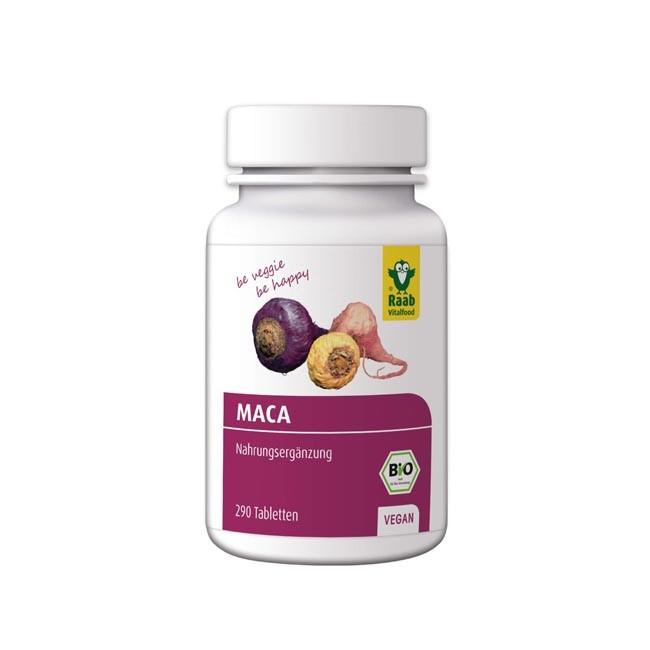 Raab Maca Tabletten, bio 290 Stk