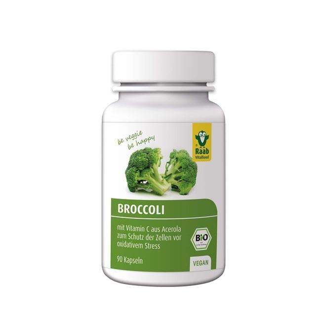Raab Broccoli Kapseln, bio 90 Stk