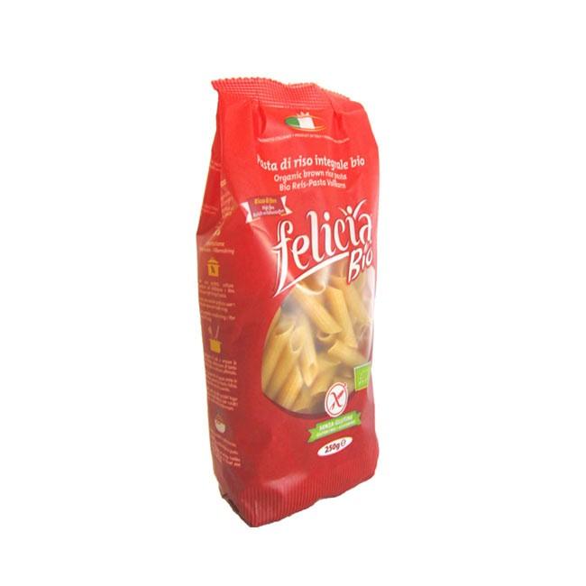 Nudelgenuss aus Italien - Felicia Bio Penne - Vollkornreis Nudeln