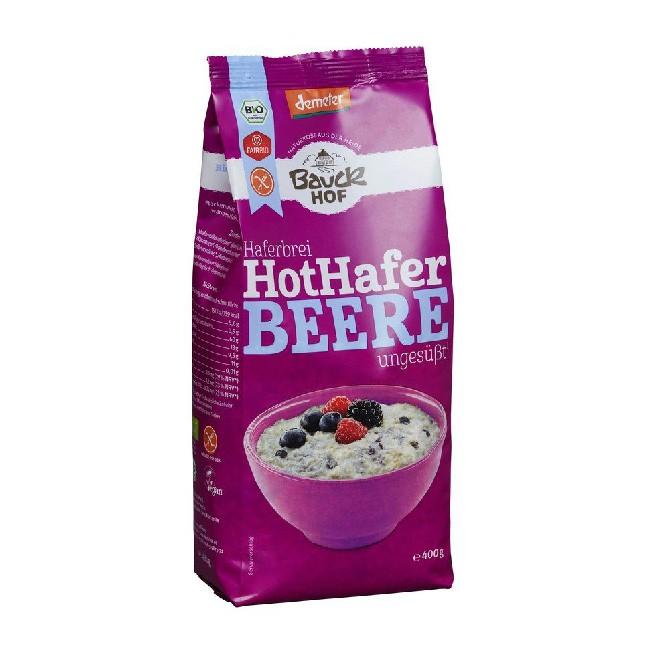 Hot Hafer glutenfreie Breimischung mit Beeren (Demeter-Qualität) VEGAN 400g