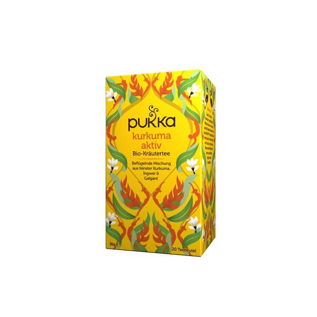Pukka Bio Kurkuma Aktiv Tee (20 Beutel)