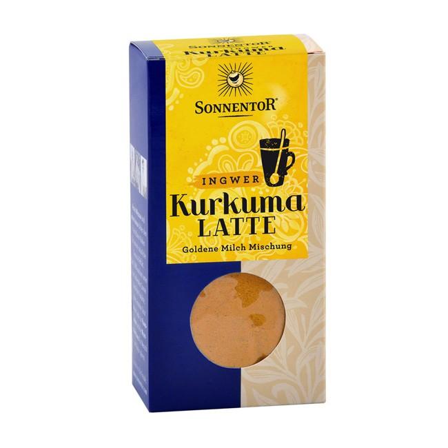 Bio Kurkuma-Latte mit Ingwer im Nachfüllpack von Sonnentor (60g)