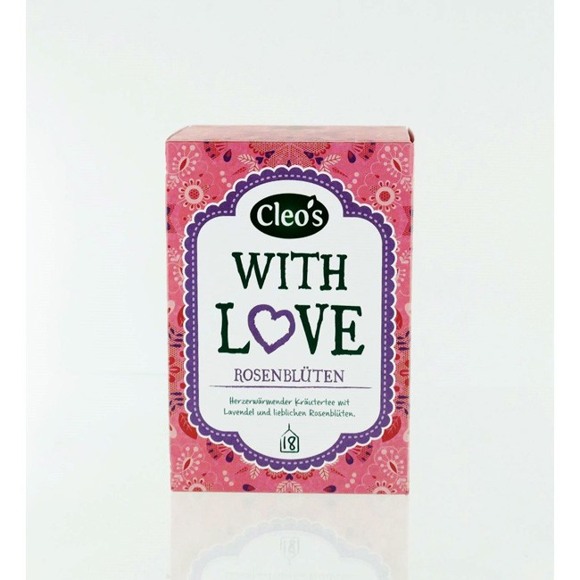 Cleo's With Love Biologischer Tee (18 Beutel)