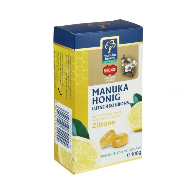 Manuka Honig Bonbons mit Zitrone
