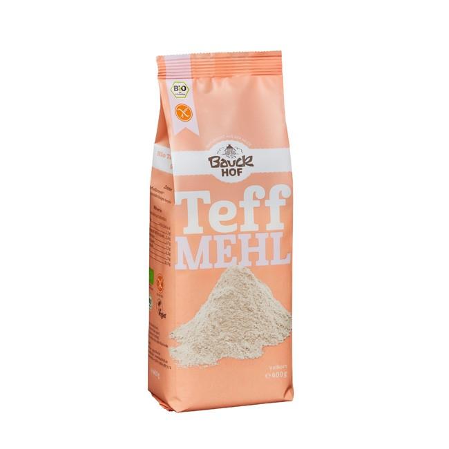 Teffmehl / hell (400 g) - glutenfreies Vollkornmehl