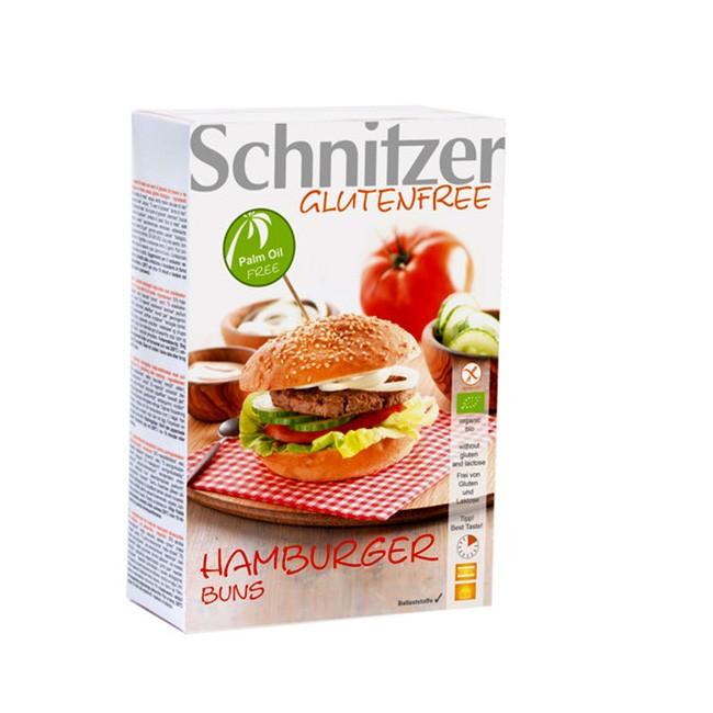 Glutenfreie Burger Brötchen Buns von Schnitzer - Bio Qualität