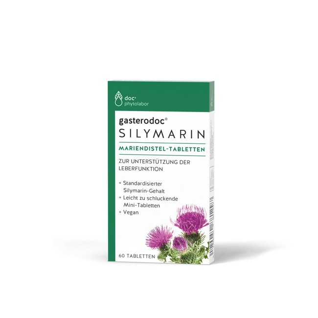 Doc Phytolabor: gasterodoc SILYMARIN Mariendistel 60 Tabletten