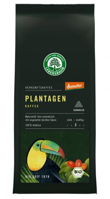 Lebensbaum : Plantagen Kaffee gemahlen, demeter (250g)