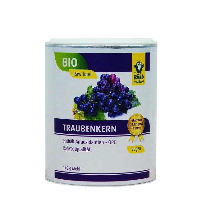 Bio Traubenkernmehl von Raab (140g)