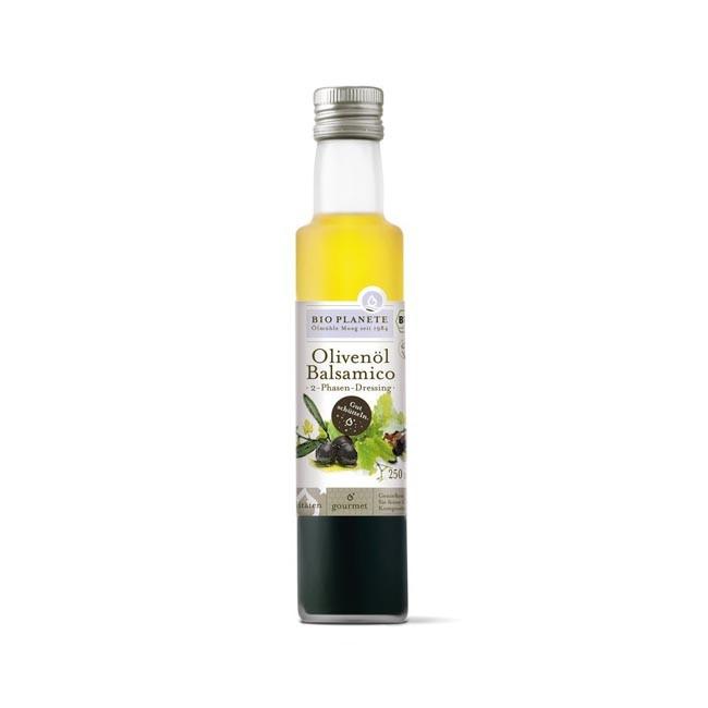 Bio Planète : Olivenöl und Balsamico 2-Phasen-Dressing, bio (250ml
