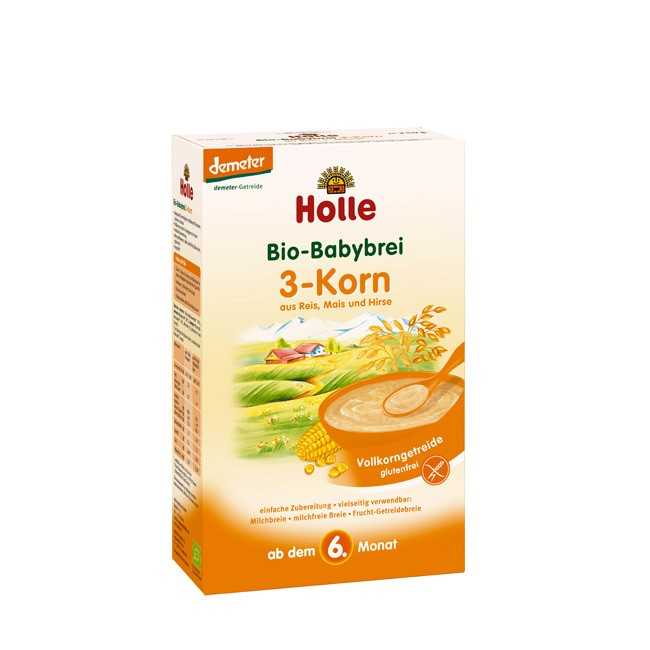 holle-3-korn-babyrei-250g